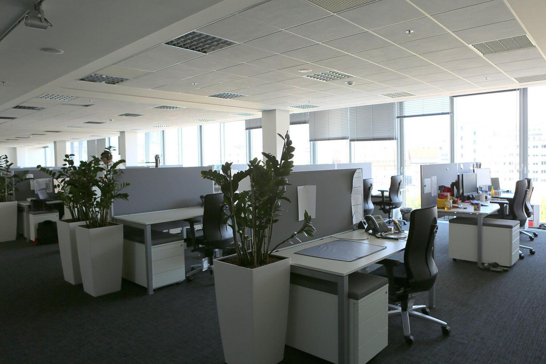 Kancelárske interiéry - Linde Global IT Services Bratislava