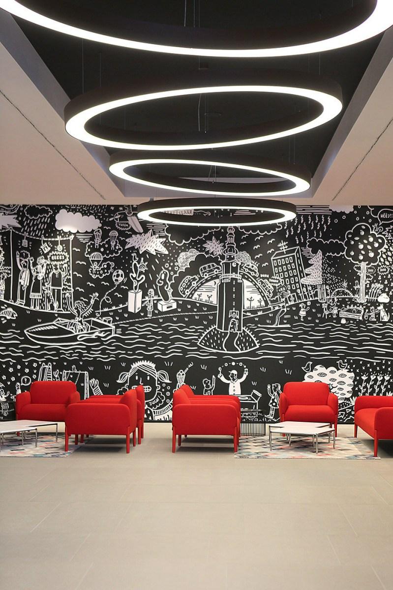 Panorama City - Kancelárske interiéry Ekoma