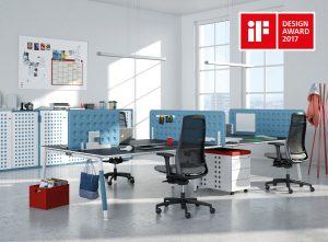 Modelová rada kancelárskeho nábytku LIFE.S