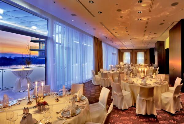Kempinski Hotel River Park - Habsburg Ballroom - Bratislava - Hotelové a reštauračné interiéry