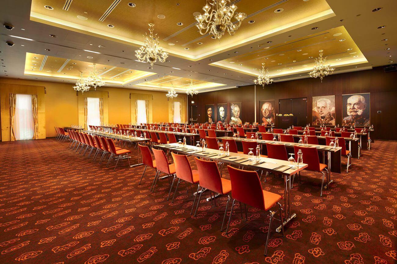 Kempinski Hotel River Park - Maria Theresia Ballroom - Bratislava - Hotelové a reštauračné interiéry