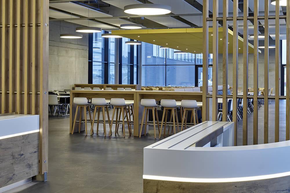 IAV Konzept 2020, Neubau eines Bürogebäudes mit Betriebsrestaurant in Gifhorn