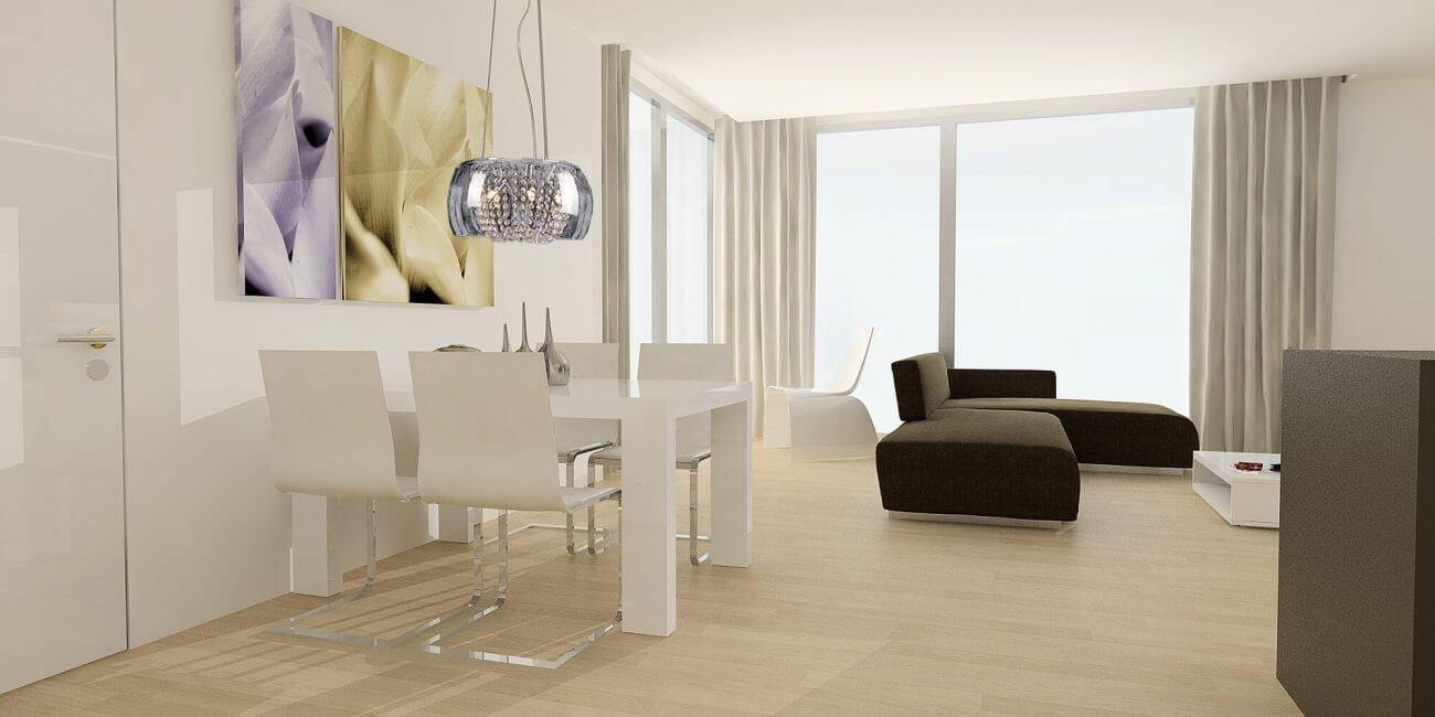Obývačka s kuchyňou – inšpirácie Ekoma