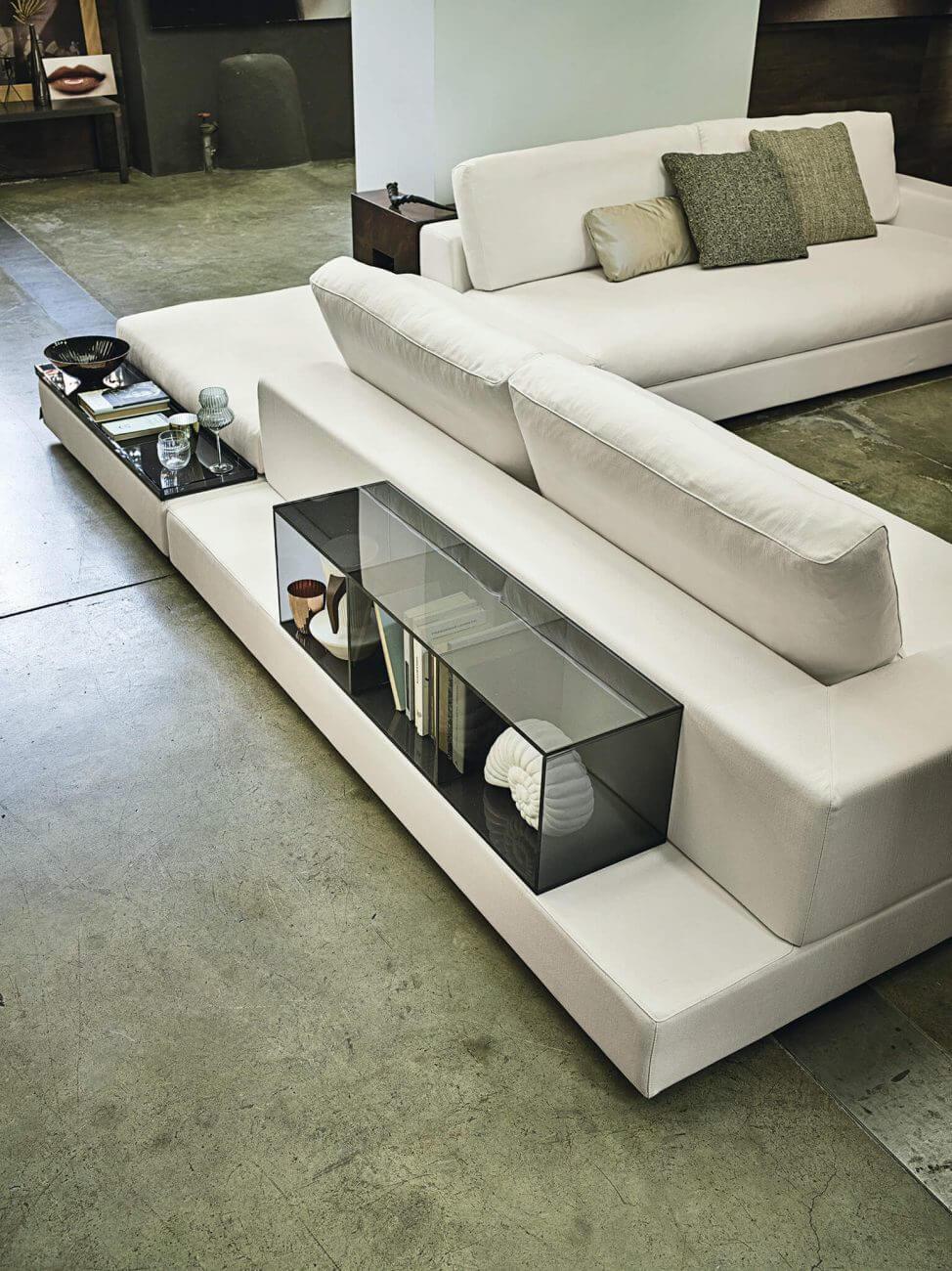 Arketipo sofa Plat design by Manzoni e Tapinassi