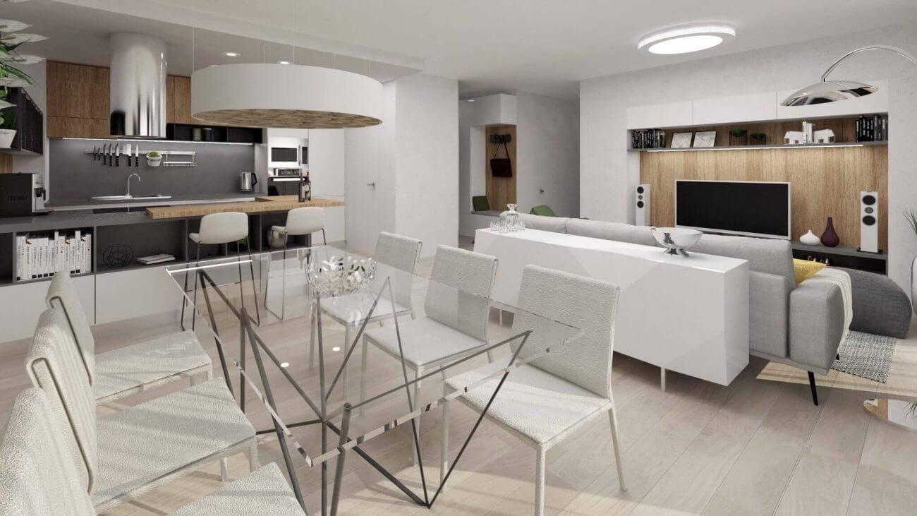 Návrh interiéru Grand koliba - Ekoma