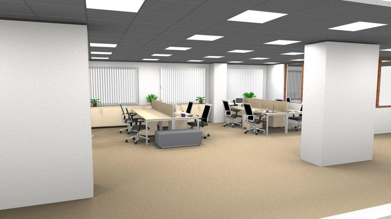 Návrh interiéru - vaše kancelárie - Ekoma