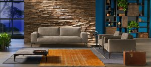 Cierre imbotitti, sofa Aida design by Stefano Conficconi
