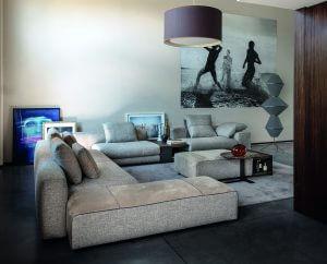 Arketipo sofa Atlas design design by Mauro Lipparini