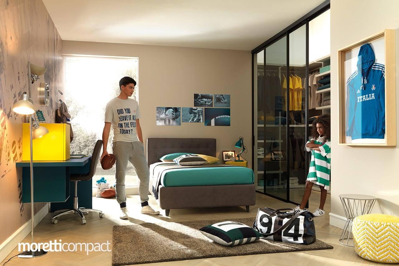Nábytok do študentskej izby moretticompact Ekoma