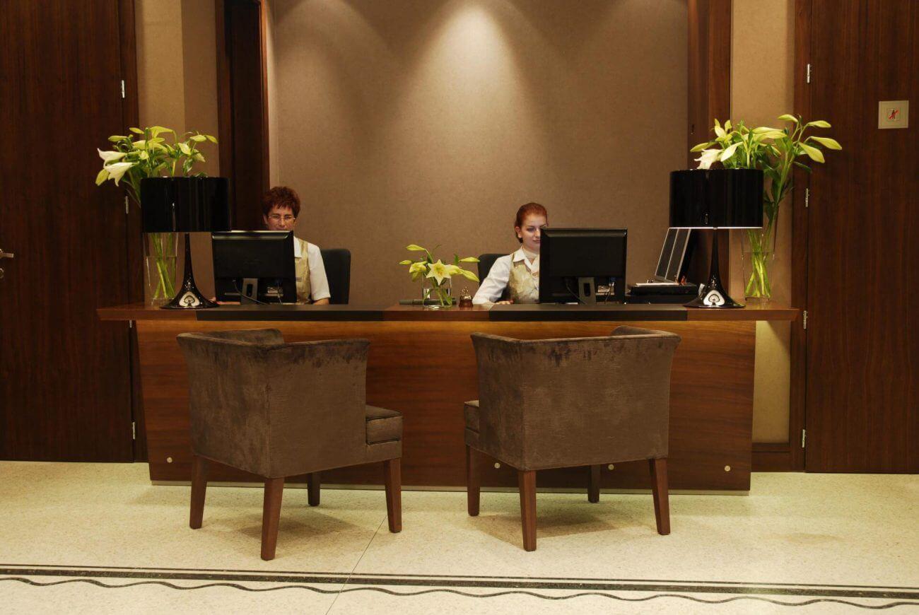 Recepcia - Hotely Ekoma