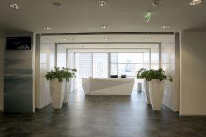 Kancelárske interiéry - Linde Global IT Services Bratislava - Ekoma
