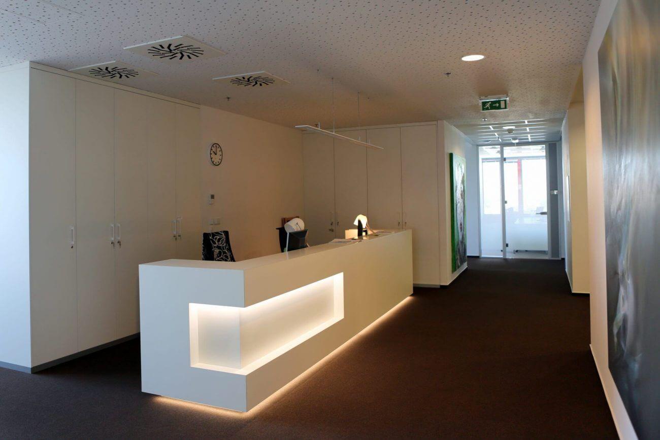 Kancelárske interiéry - Westend Square Bratislava - Ekoma
