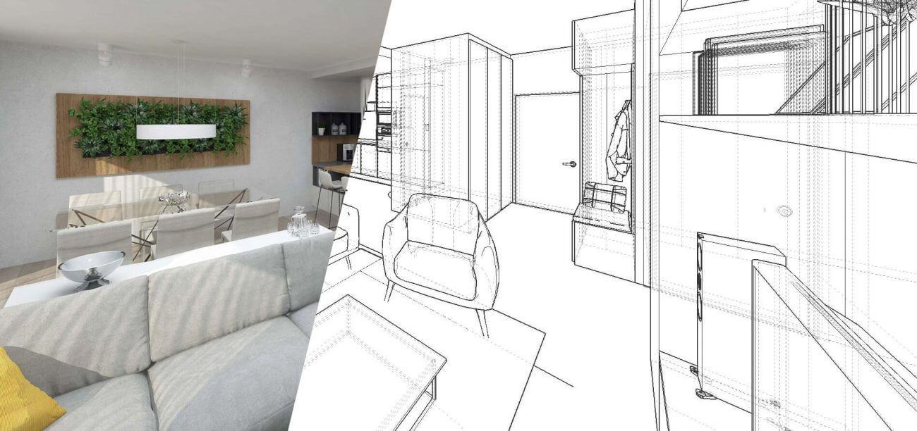 Návrh interiéru - Ekoma ponuka