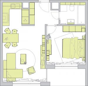 Ekonomické verzia bytu Ekoma