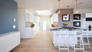 Obývačka s kuchyňou - Ekoma