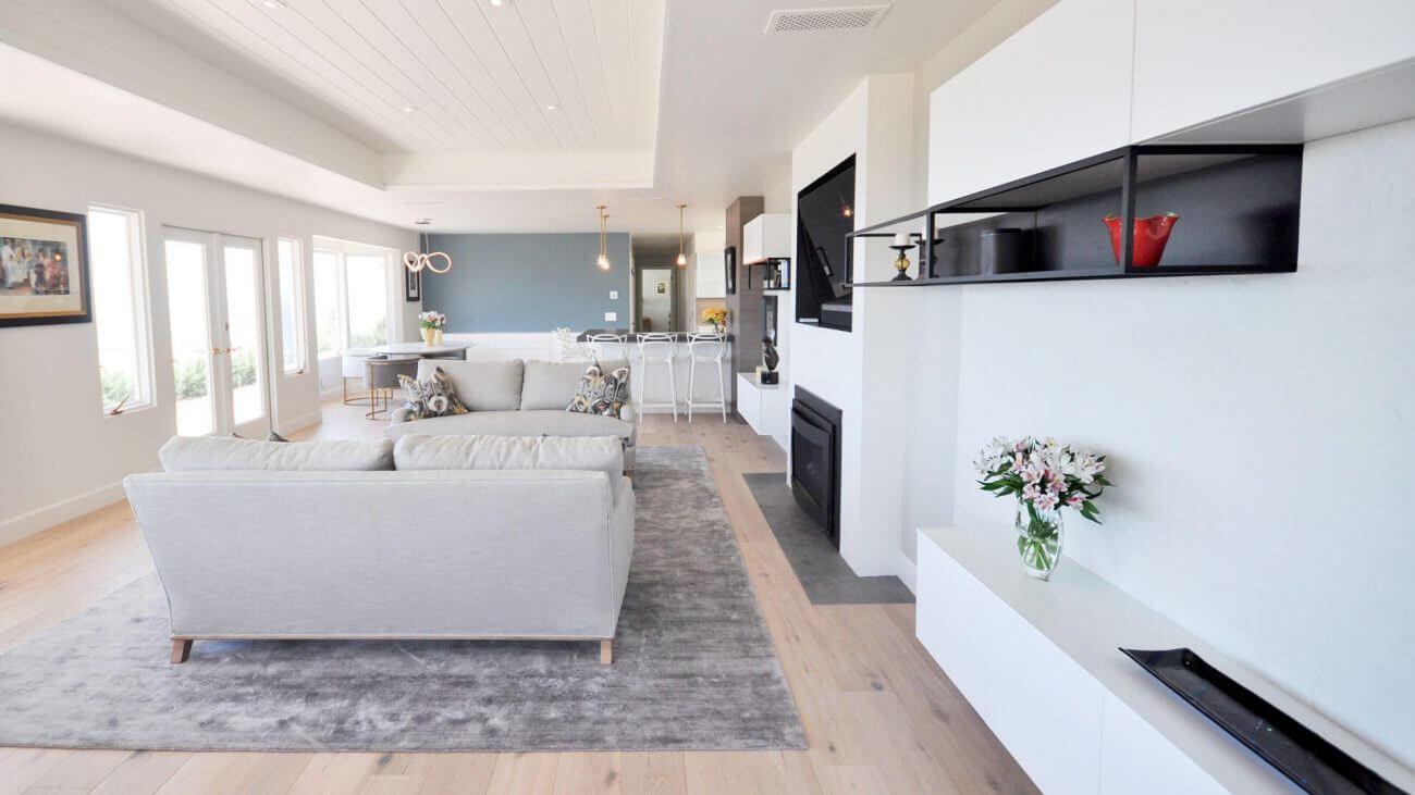 Obývačka s kuchyňou Ekoma.sk