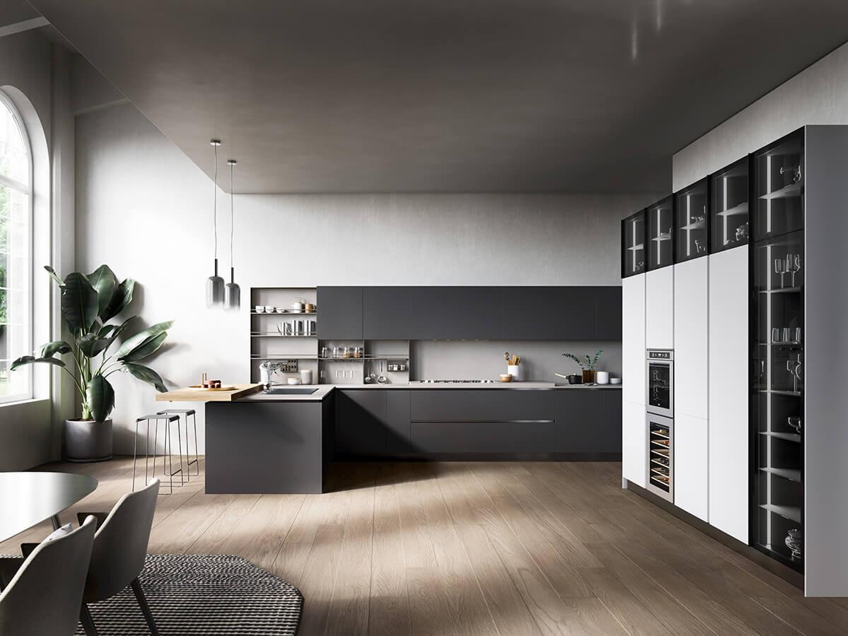 Moderné kuchynské linky | Ekoma