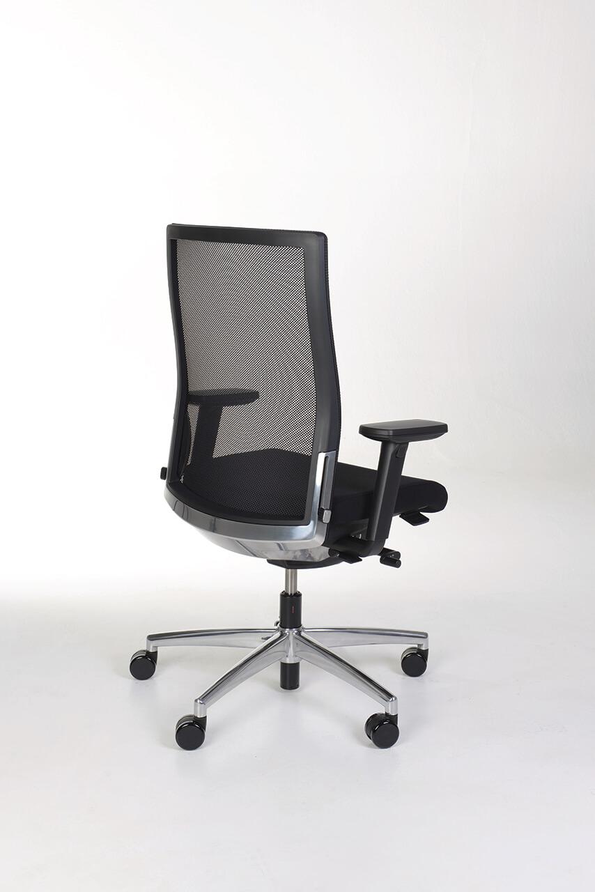 Kancelárska stolička čierna - manager