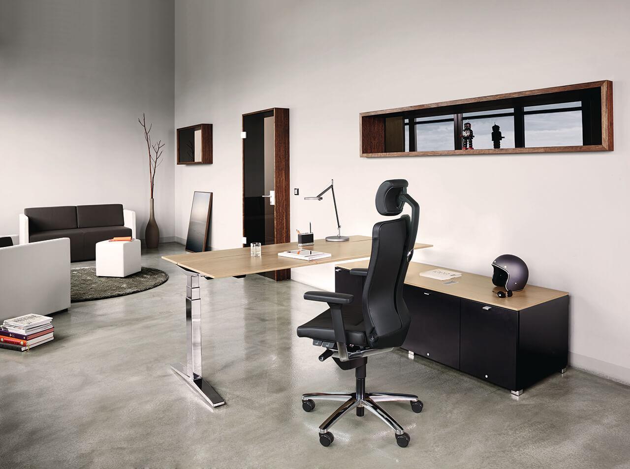 Kancelárske stoličky - manager