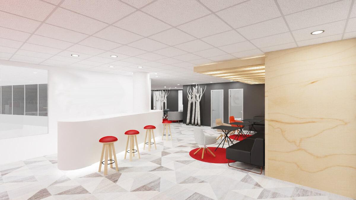 Kancelárske interiéry - produkty