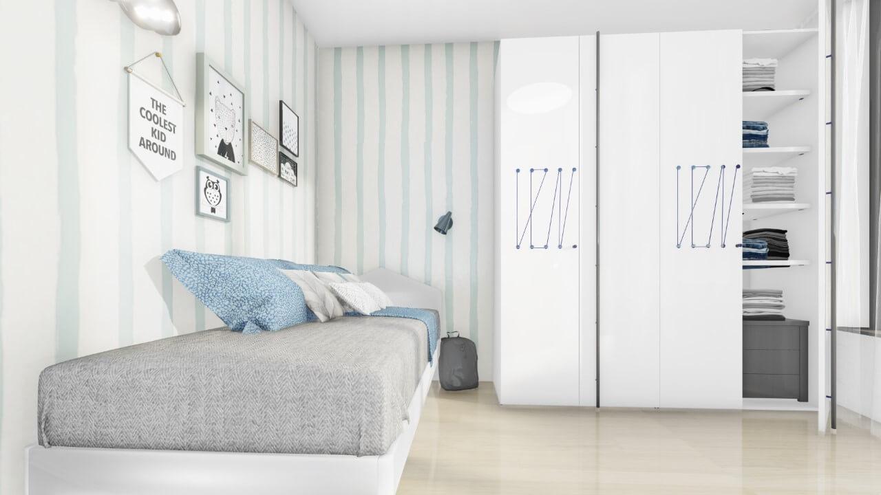 detská izba - trojizbový väčší byt premium