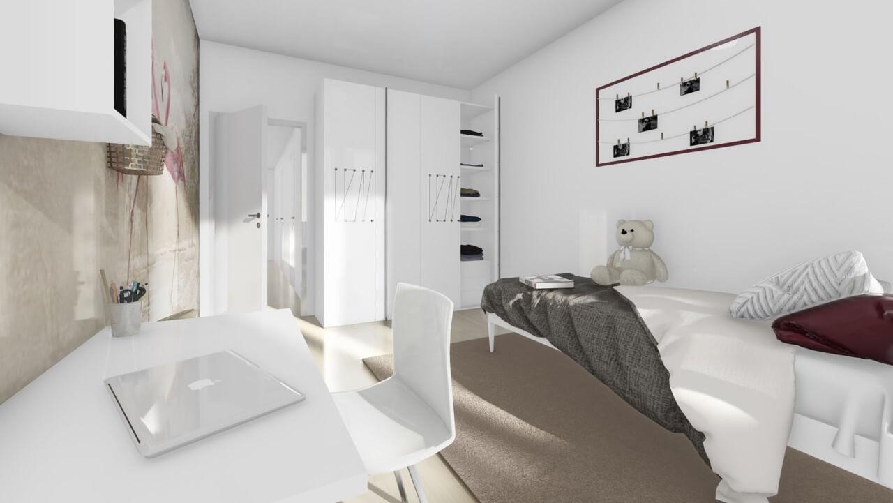 detská izba - trojizbový byt premium