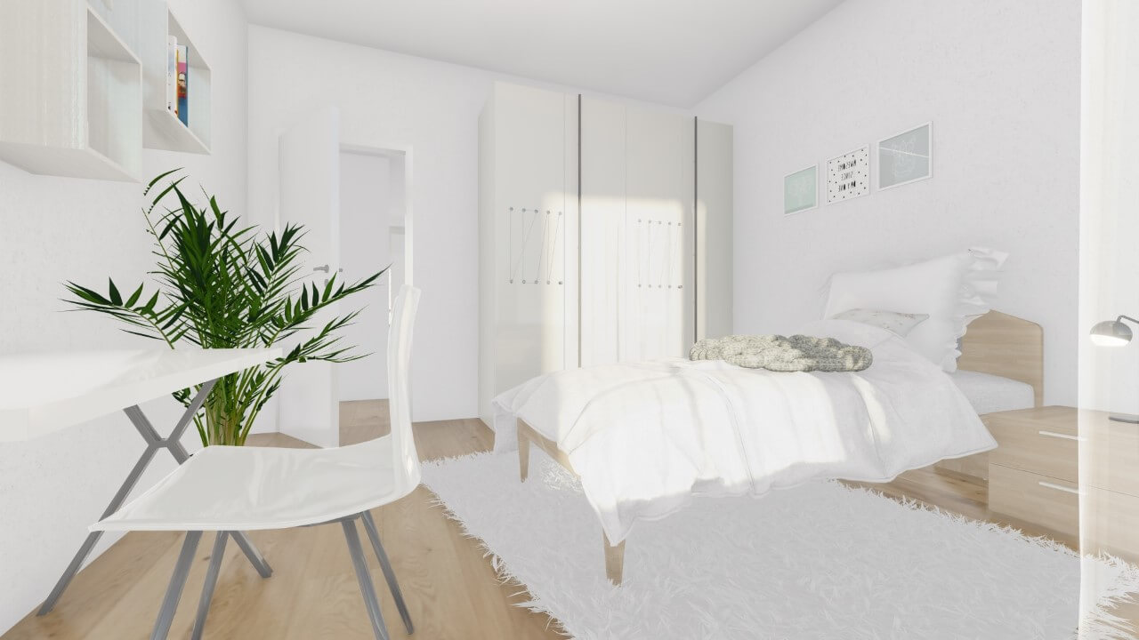 detská izba - štvorizbový byt premium
