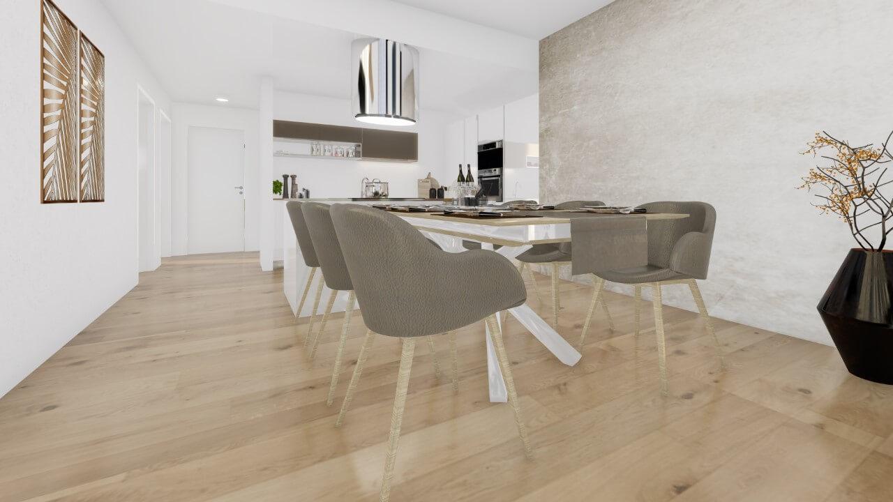 kuchyňa - štvorizbový byt premium