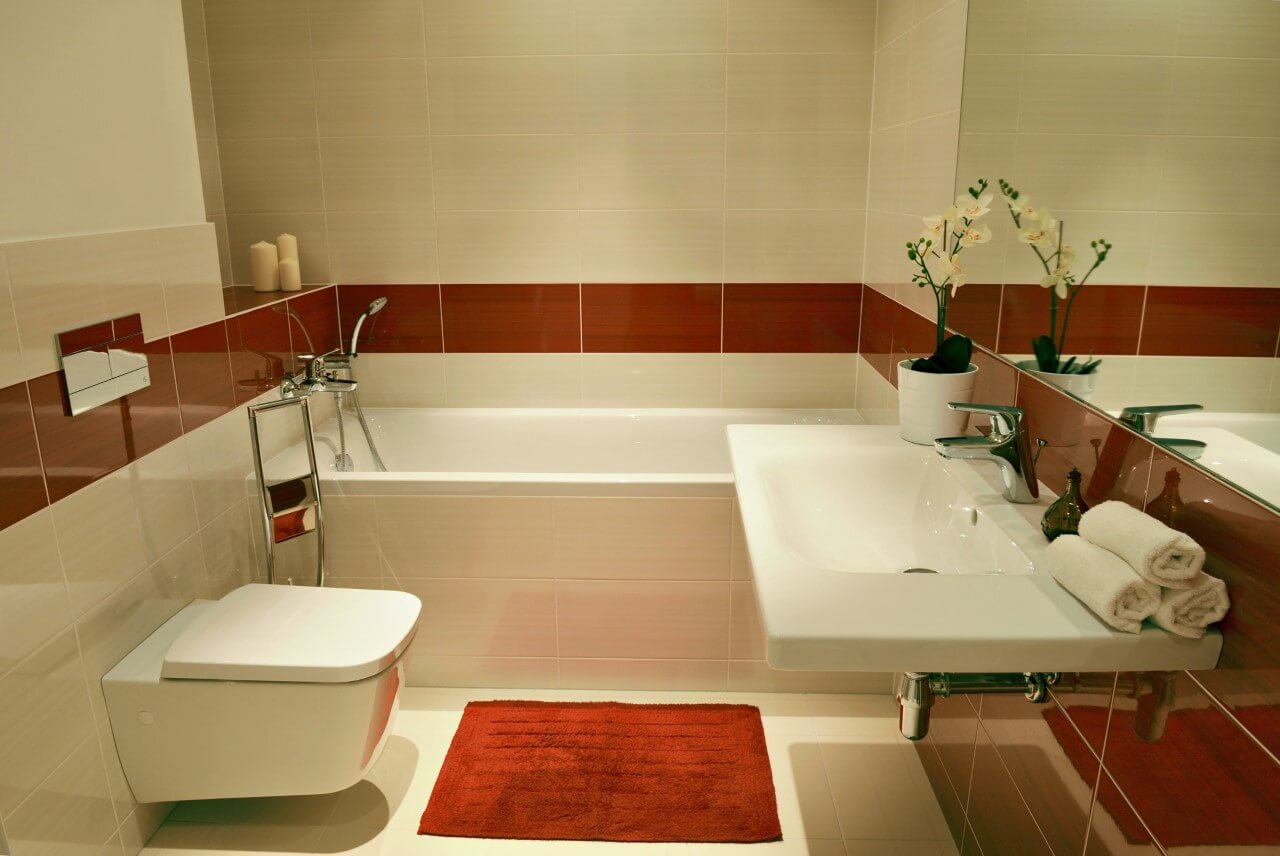 Panorama City - vzorový byt č.1 - kúpelňa a wc