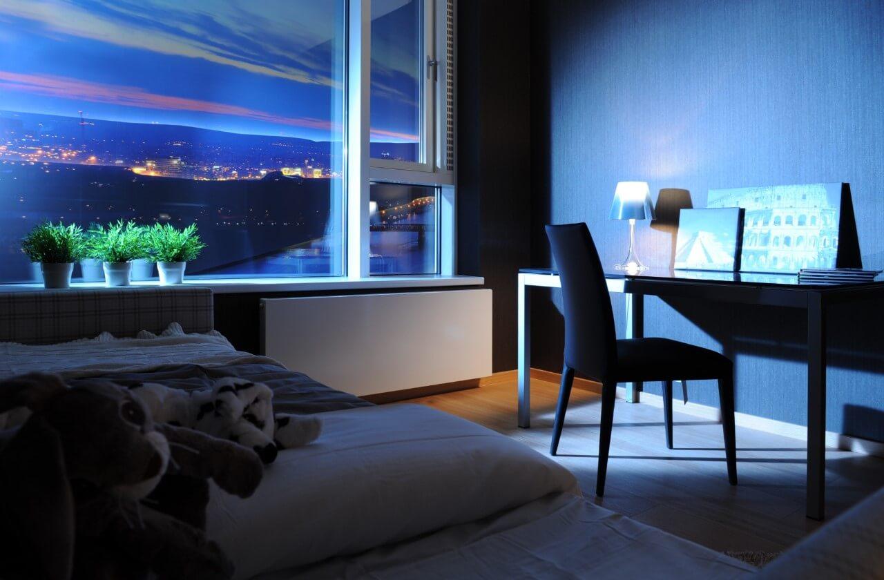 Panorama City - vzorový byt č.1 - izba