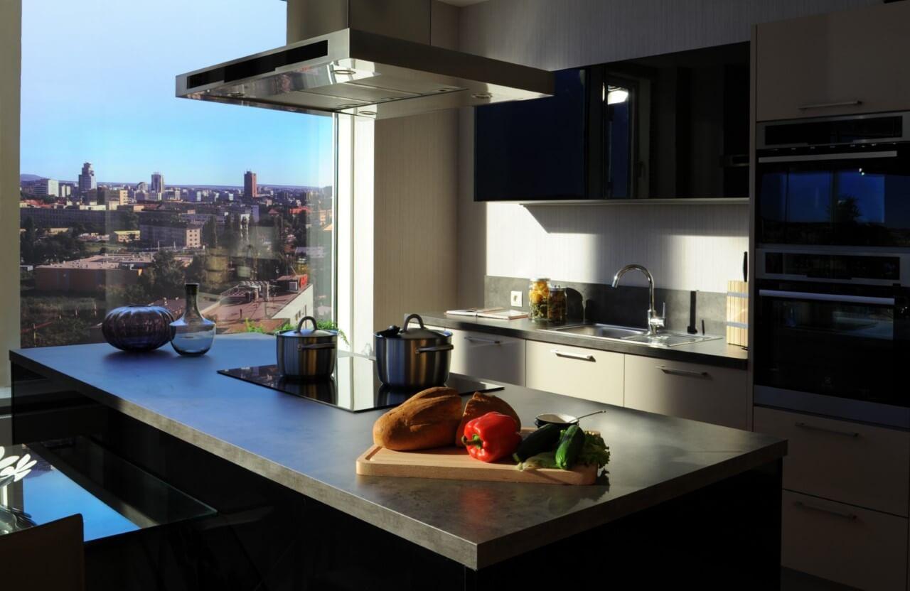 Panorama City - vzorový byť č.3 - kuchyňa