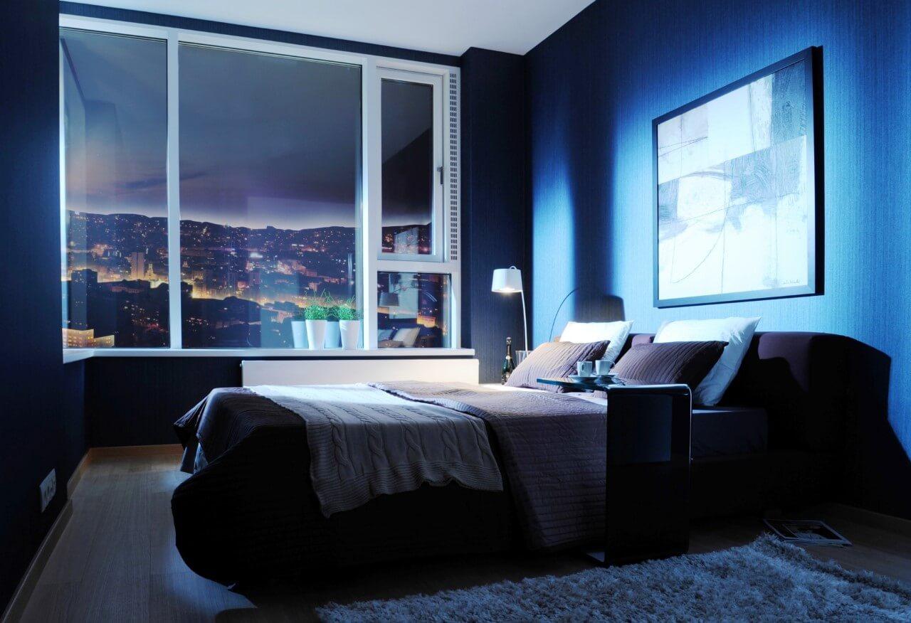 Panorama City - vzorový byt č.1 - spálňa