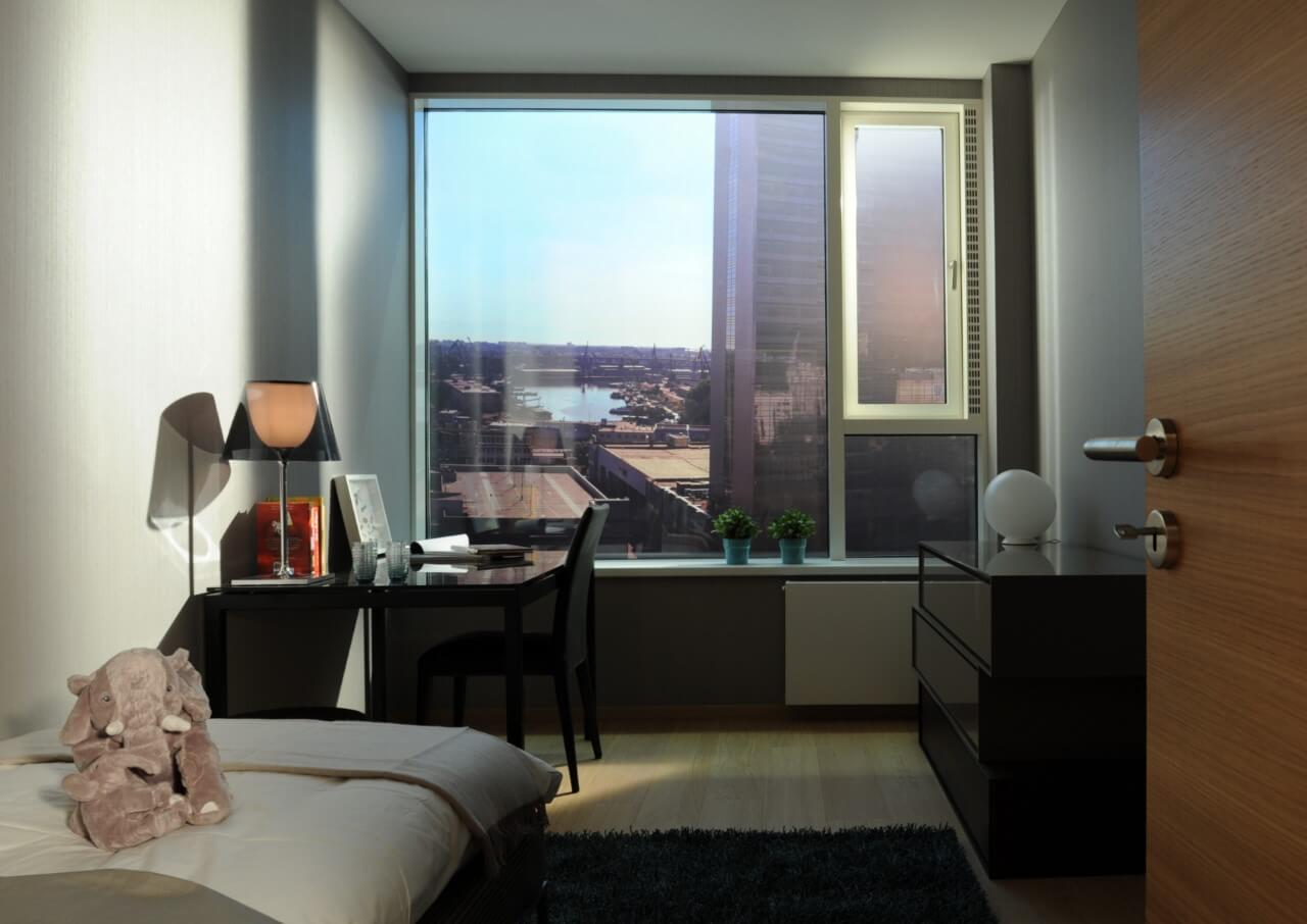 Panorama City - vzorový byť č.3 - izba