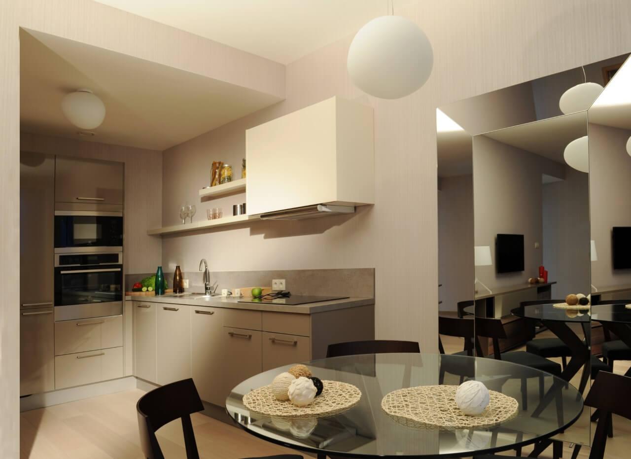 Panorama City - vzorový byť č.2 - kuchyňa