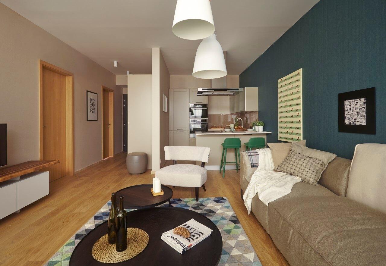 Zuckermandel - vzorový byt