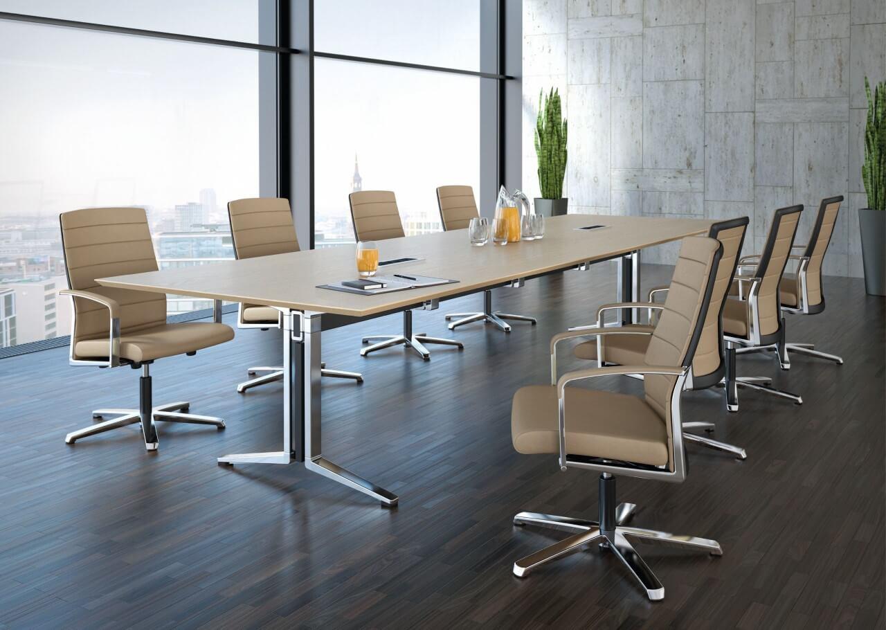 Zasadacia/rokovacia miestnosť a kongresové stoly PLENUM.K