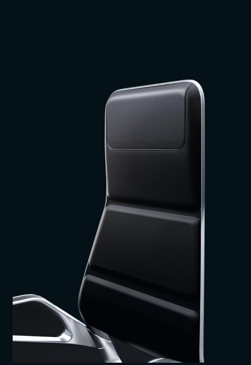 Kancelárska otočná stolička AURAY