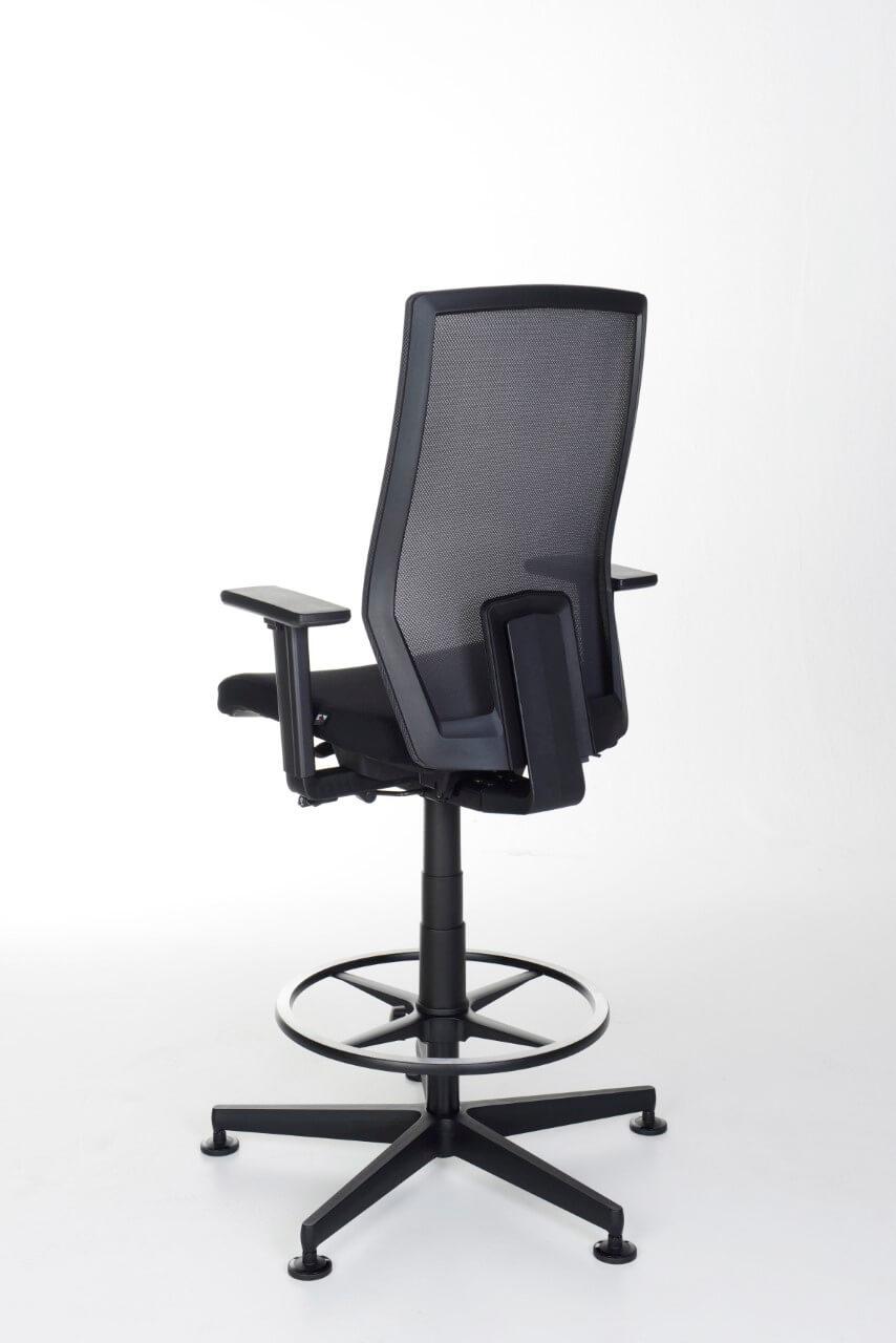 Kancelárska otočná stolička JET II