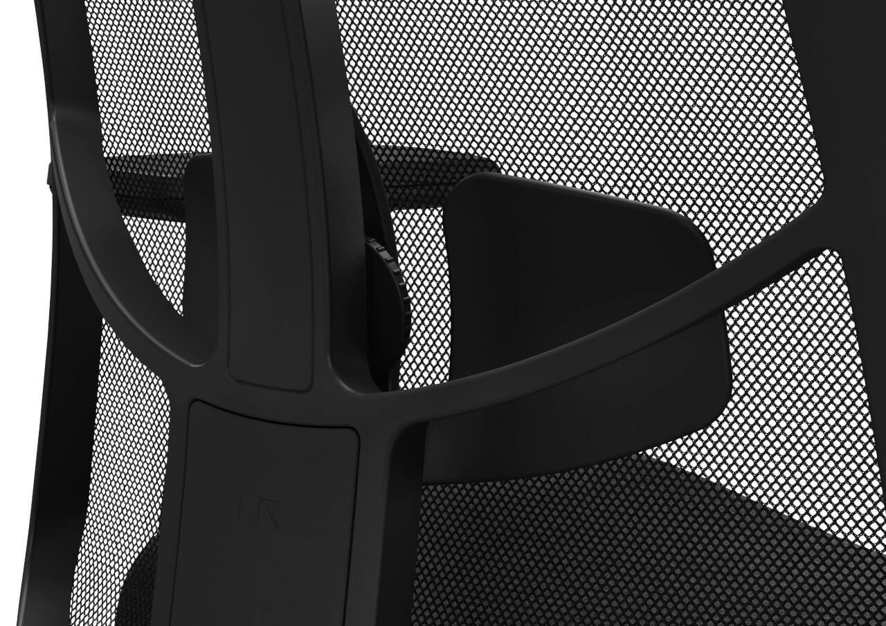 Kancelárska otočná stolička JET III