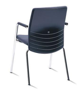 Stoličky pre hostí a kongresové sály - JET.ONE visitor chair