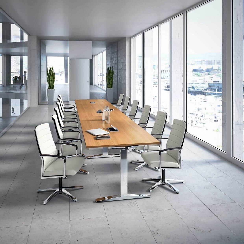 Rokovacie kancelárske stoličky Agenda II conference