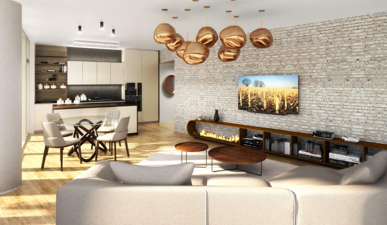 Eurovea city vzorový byt
