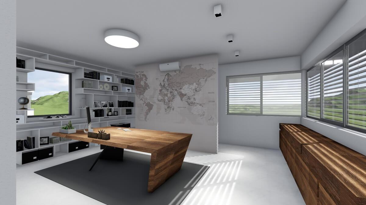 Práca interiérového dizajnéra