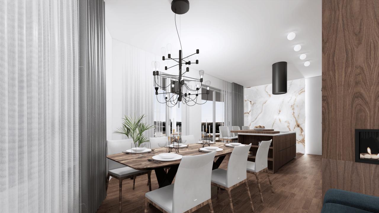 jedáleň - vizualizácia