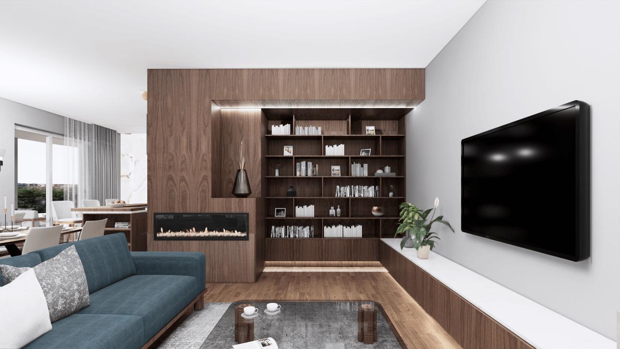 knižnica- vizualizácia
