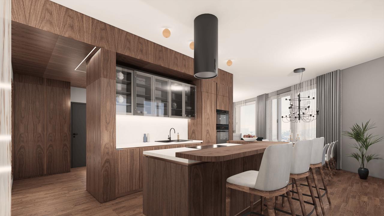 kuchyňa - vizualizácia